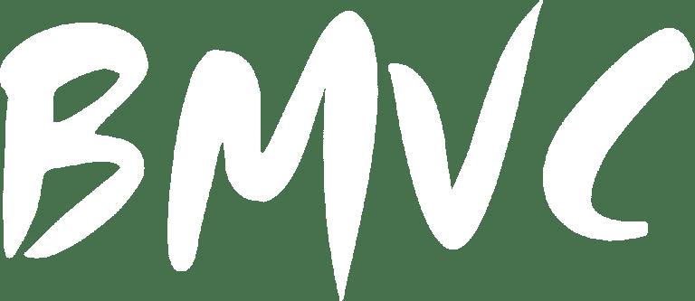 Bmvc White Logo